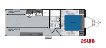 25WB work and play floorplan