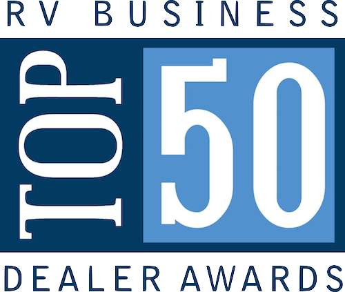Fab Top 50 Award: Travel Trailers, Motorhomes