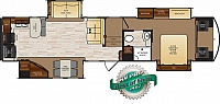 2017 FOREST RIVER WILDCAT 37WB