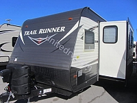 2017 HEARTLAND TRAIL RUNNER 28TH TOY HAULER