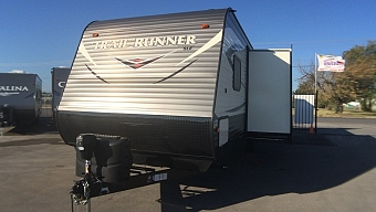 2018 HEARTLAND TRAIL RUNNER 302SLE