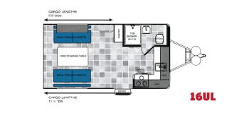 16UL Work and Play Floorplan