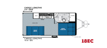 Forest River Work And Play Floorplans For Toy Haulers