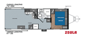 Work and play 25ULA floorplan