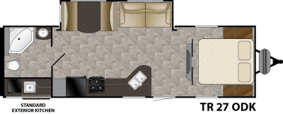 Trail Runner 27ODK Floorplan