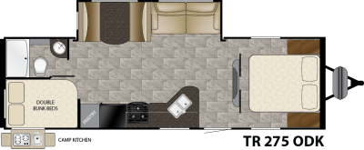 Trail Runner 275ODK Floorplan