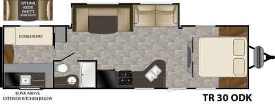 Trail Runner 30ODK floorplan