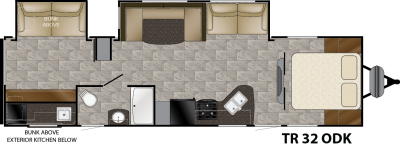 Trail Runner 32ODK floorplan