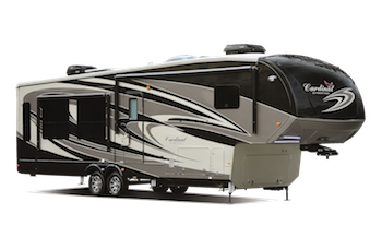 Cardinal Luxury Fifth Wheel