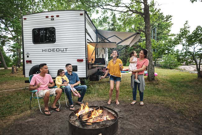 RV Vacation With Family