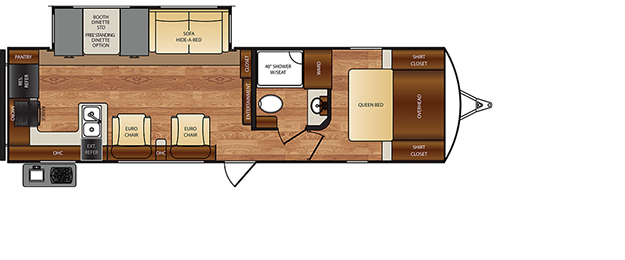 wildcat tt 301RES floorplan