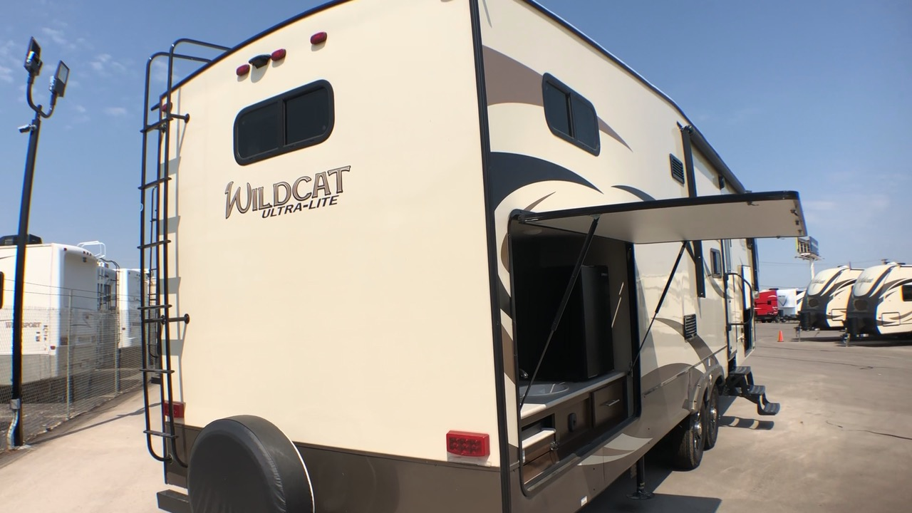 2019 FOREST RIVER WILDCAT ULTRA-LITE 31BH