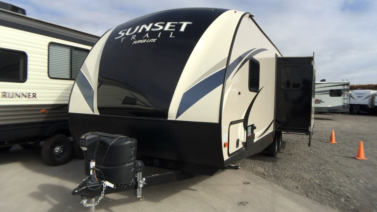 2018 CROSS ROADS SUNSET TRAIL 271RL