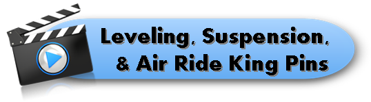 Leveling - Suspension - Air Ride King Pin Video